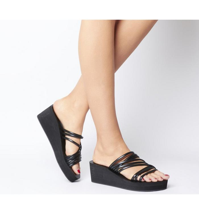 Shoe the Bear Shoe the Bear Jade Multi Wedge BLACK
