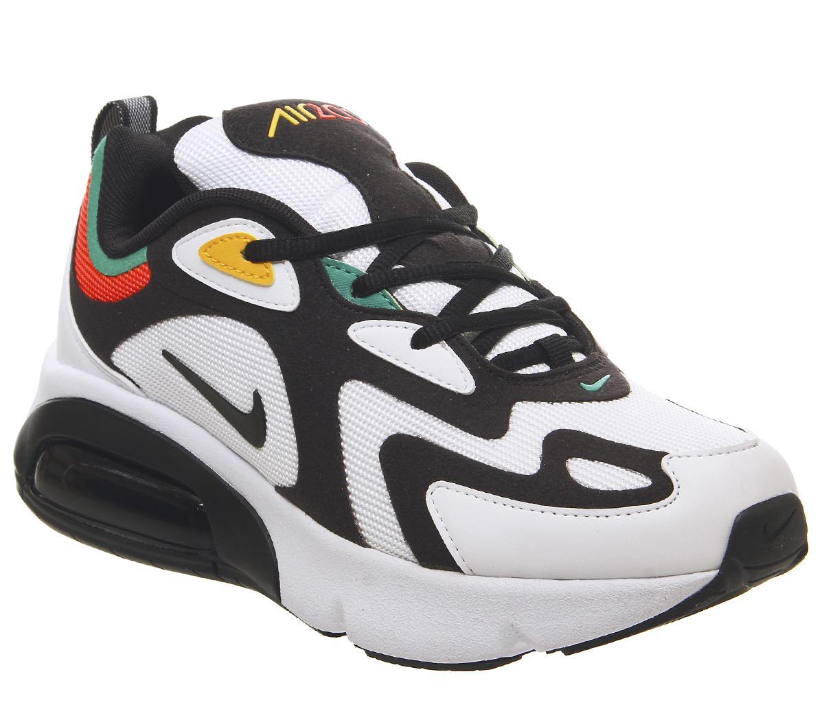 Nike Air Max 200 Gs Trainers Black