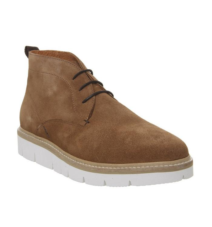 Shoe the Bear Shoe the Bear Freeport Chukka TAN SUEDE