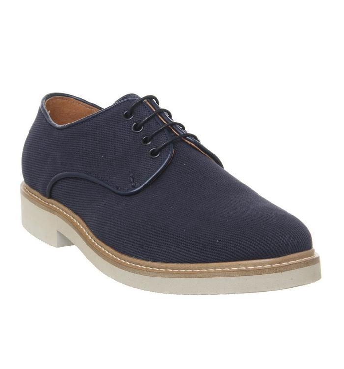 Shoe the Bear Shoe the Bear Greenwich Derby NAVY TEXTILE