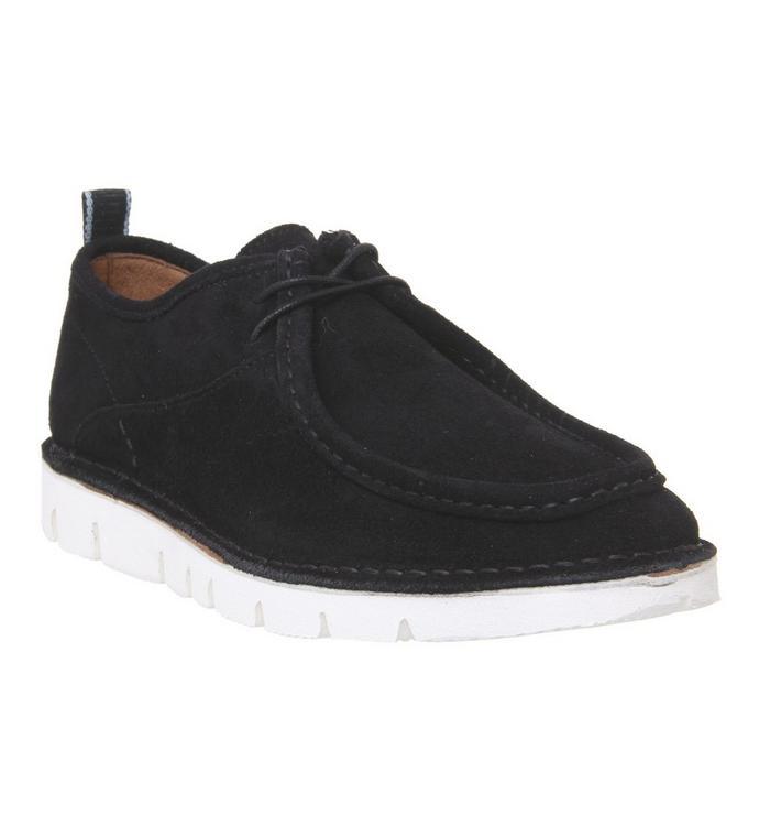 Shoe the Bear Shoe the Bear Milford Shoe BLACK SUEDE