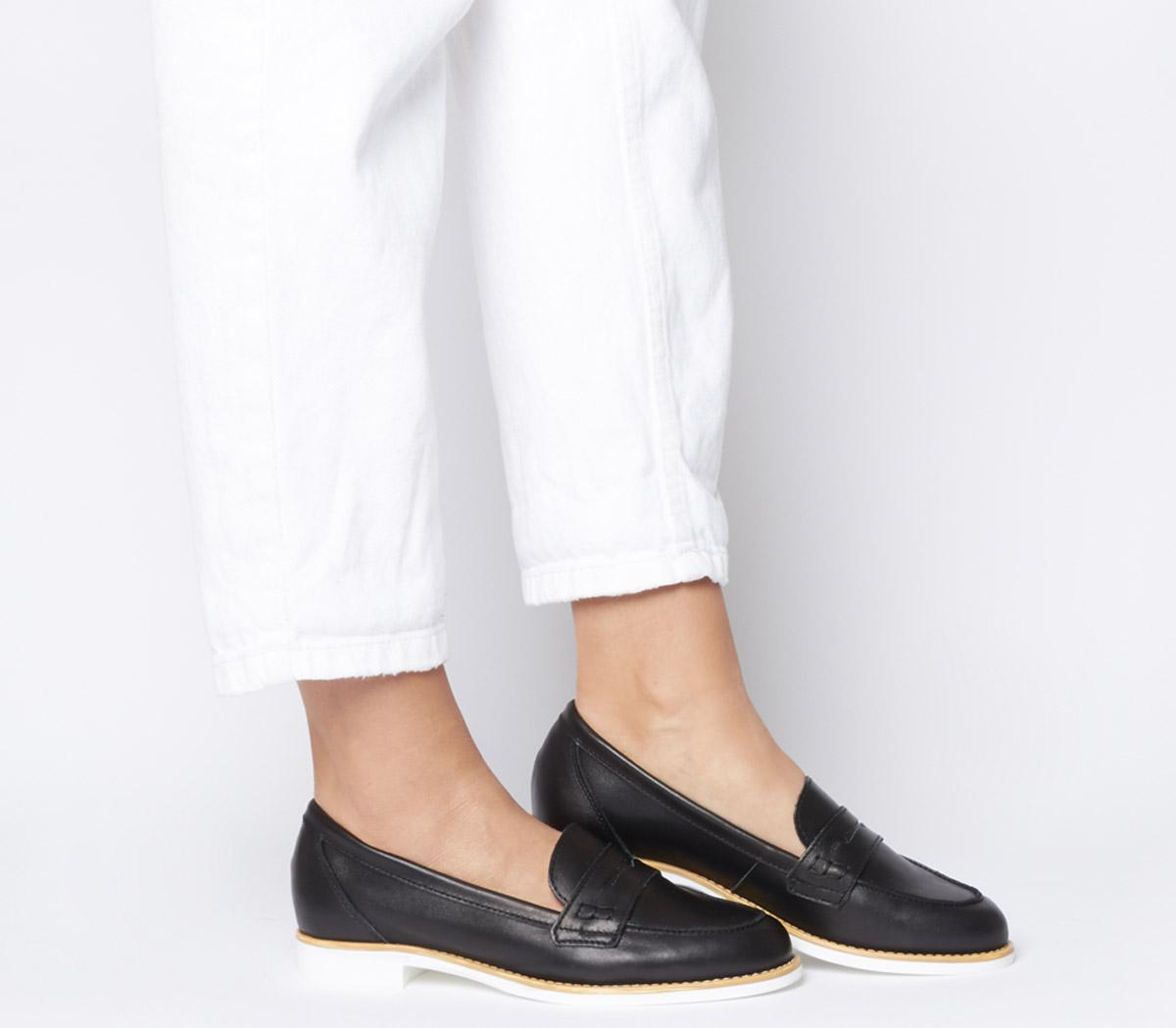 Office Formal Loafer With White Sole