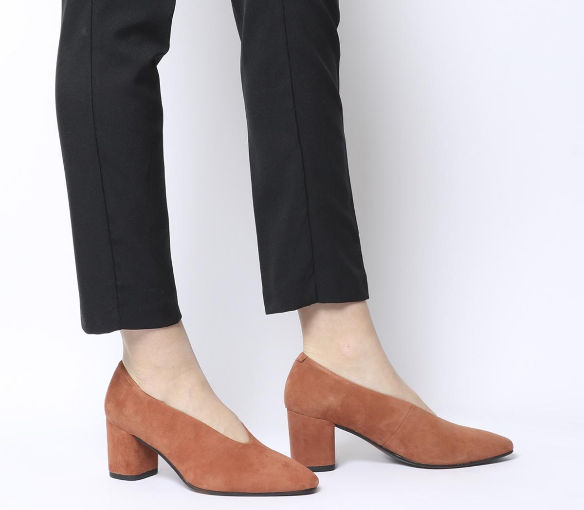 Tracy Block Heels