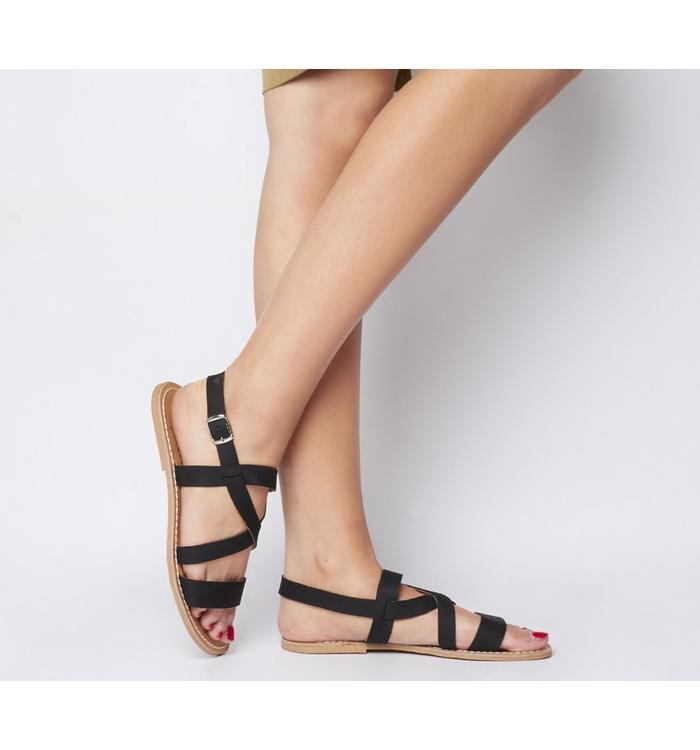 Solillas Solillas Strappy Sandal BLACK