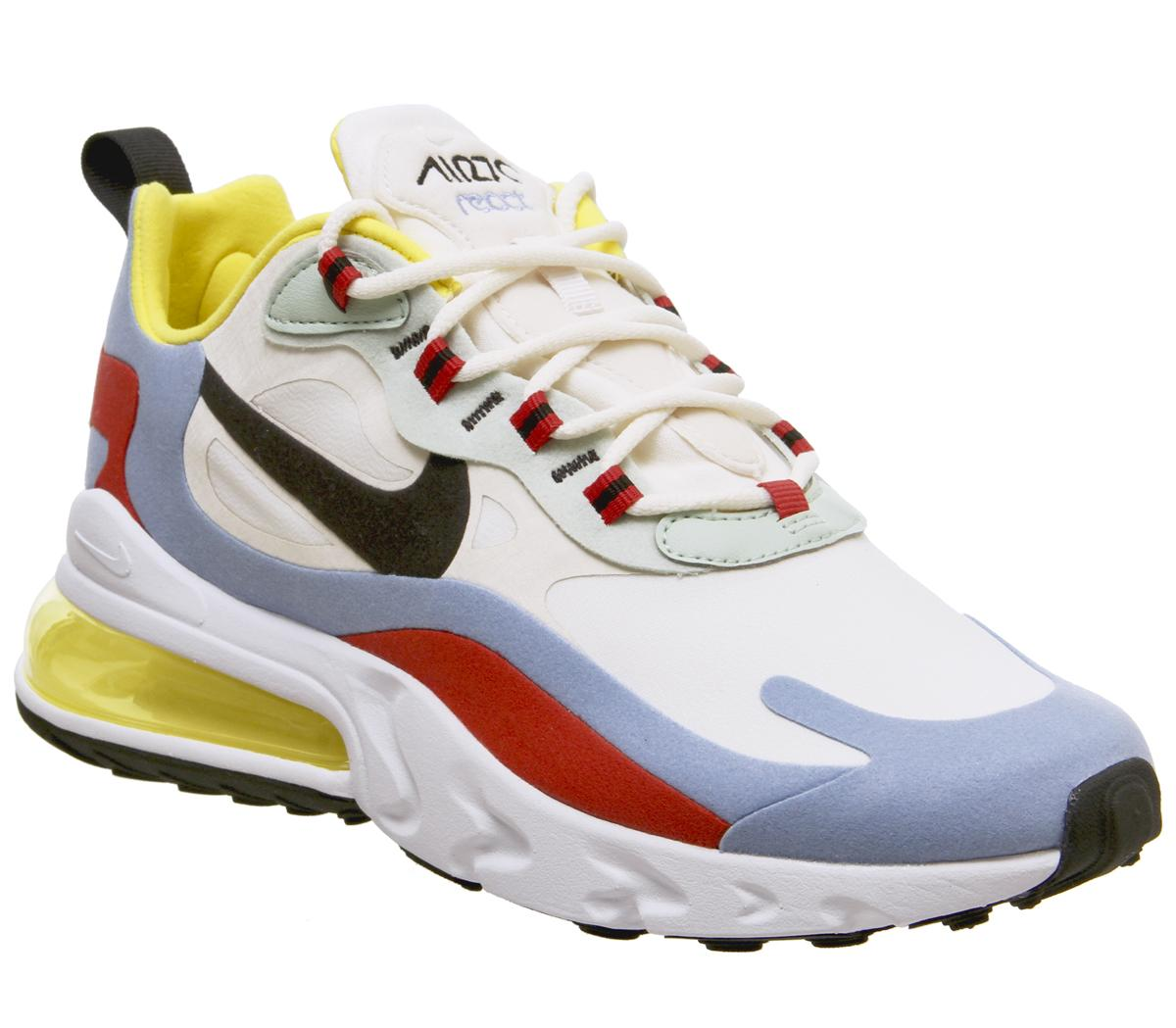 Nike Air Max 270 React Trainers Phantom