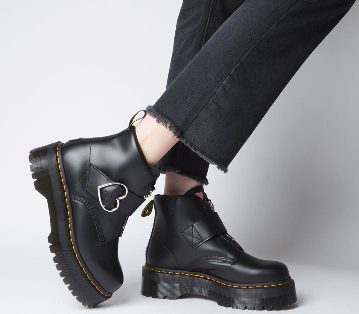 doc martens x lazy oaf buckle boot