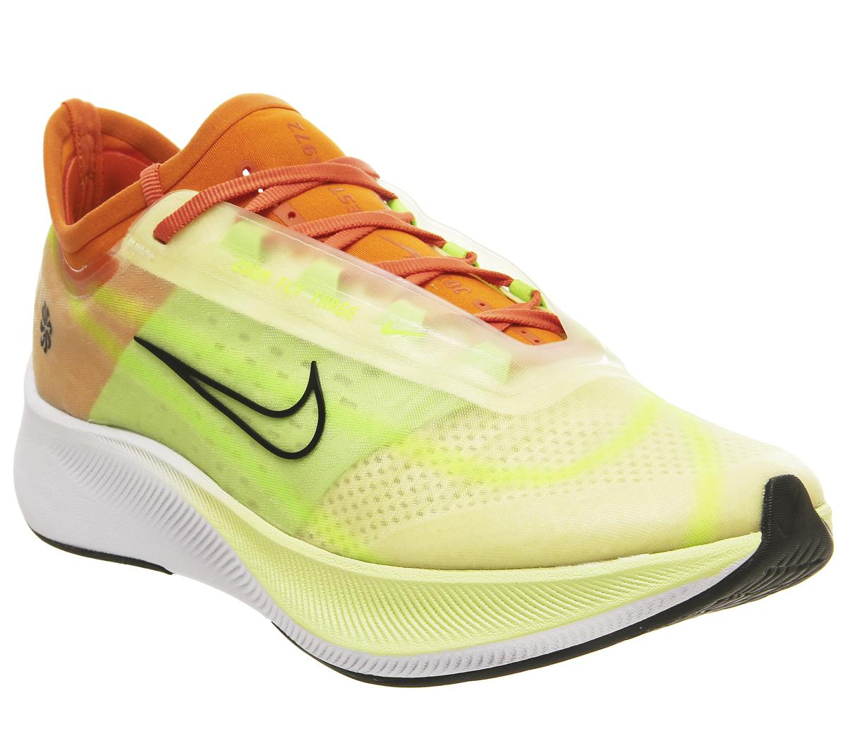 Destino Mareo agujero  Nike Zoom Fly 3 Luminous Green Black Starfish - Unisex Sports