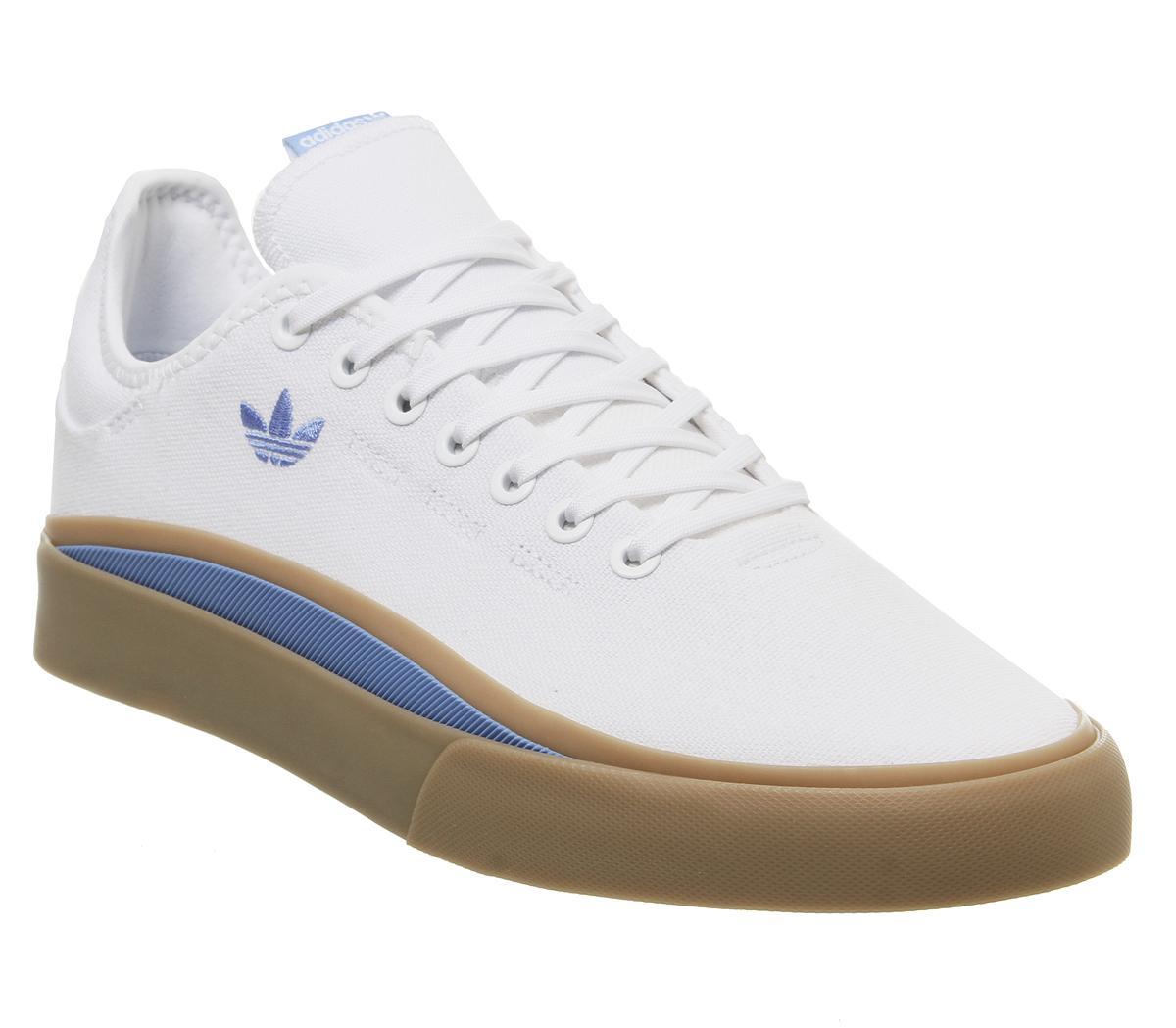 adidas Sabalo Trainers White Real Blue