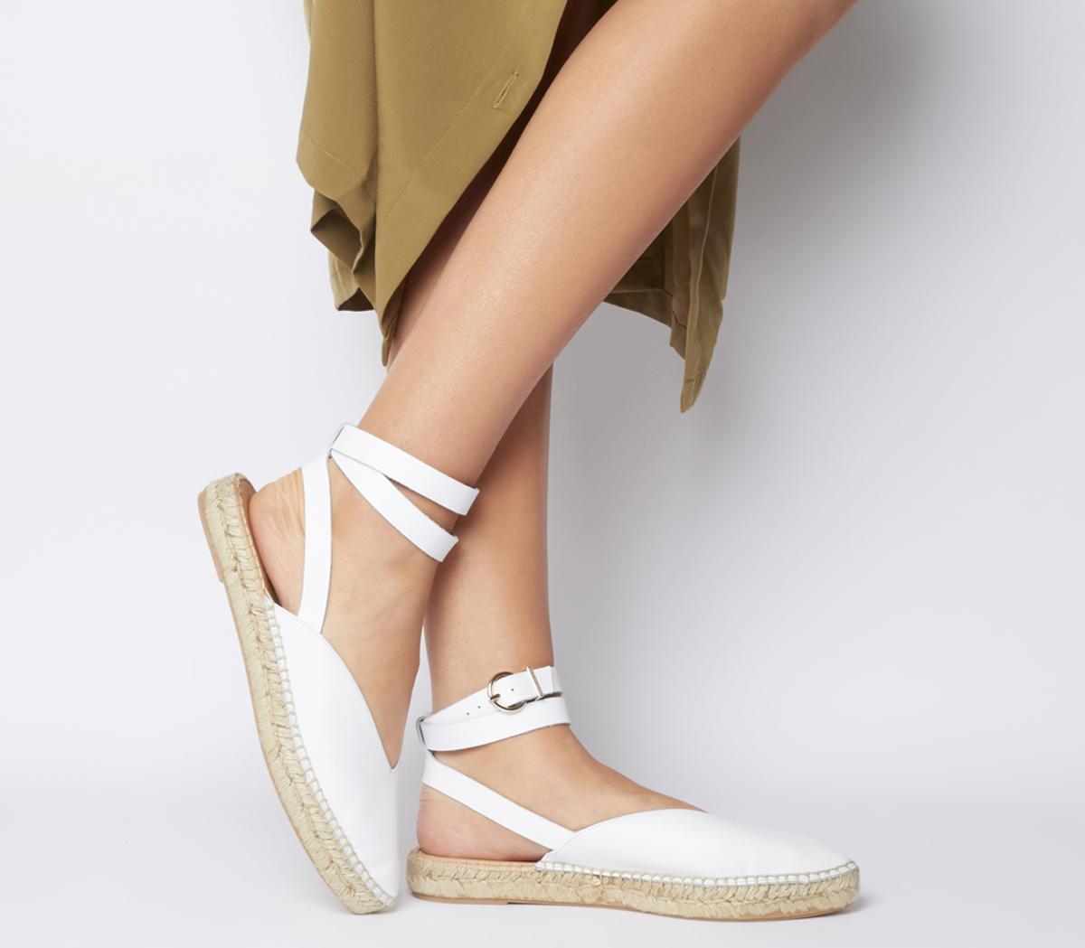 Faris Point Ankle Strap Espadrilles