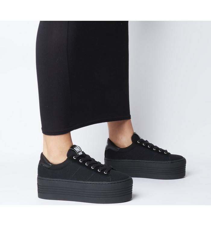 No Name No Name Twin Sneaker BLACK