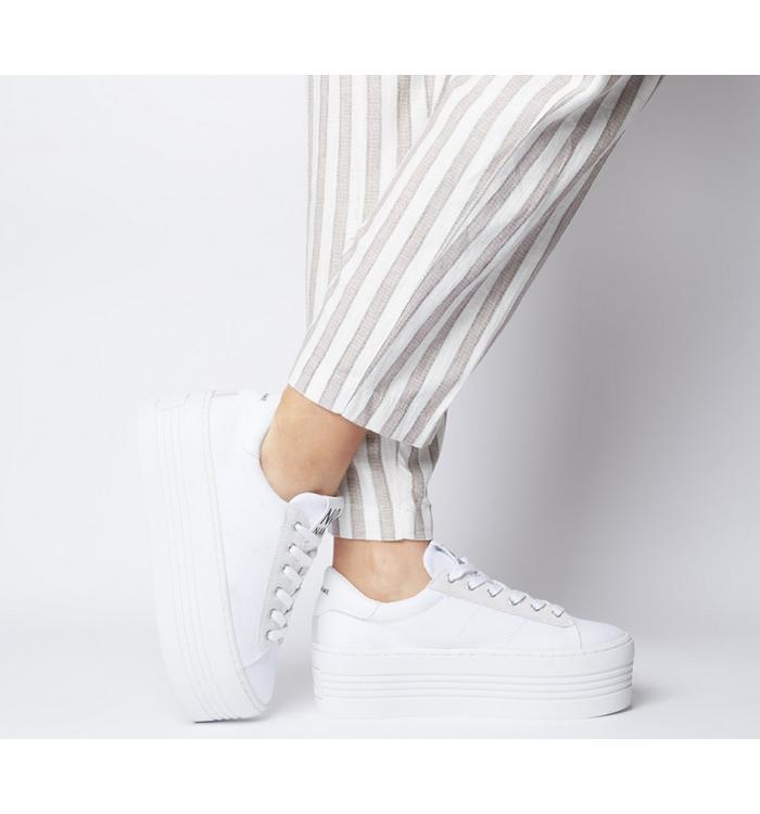 No Name No Name Twin Sneaker WHITE