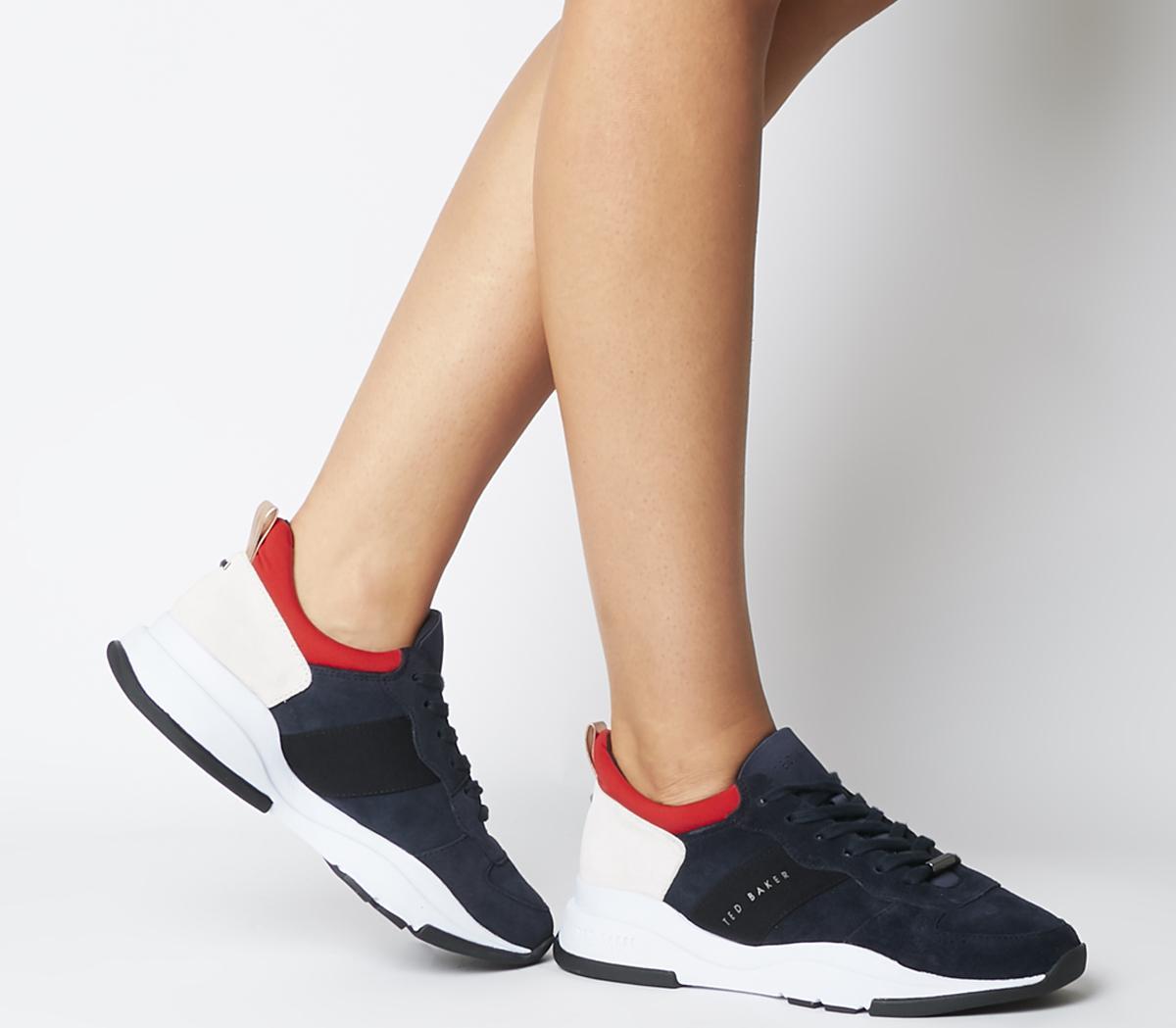 Ted Baker Waverdi Sneakers Navy - Flats