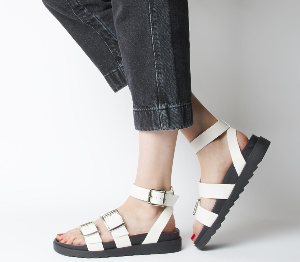 Stingray Ankle Strap Cleated Sandals