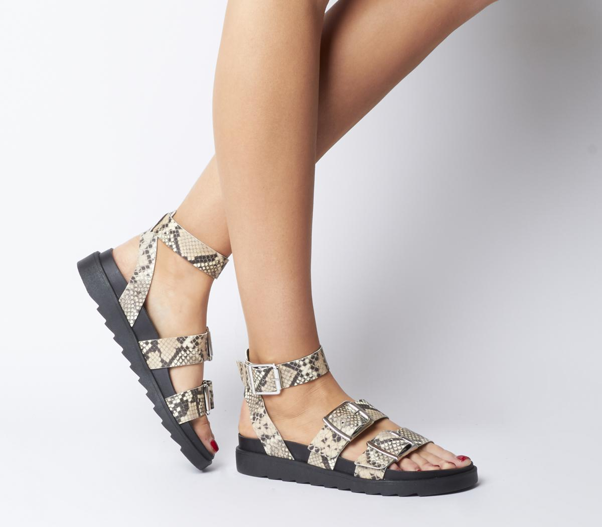 Stingray Strappy Cleated Sandals