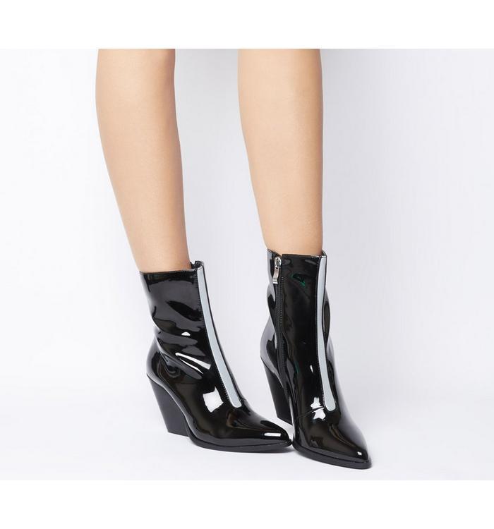 EGO Ego Alba Heeled Boot BLACK REFLECTIVE