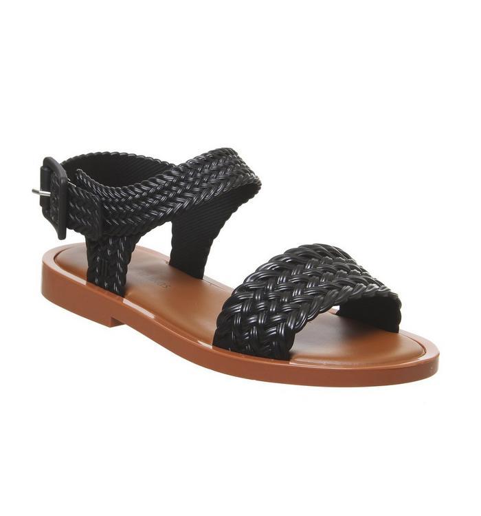 Mel Melissa Mar Sandal BLACK