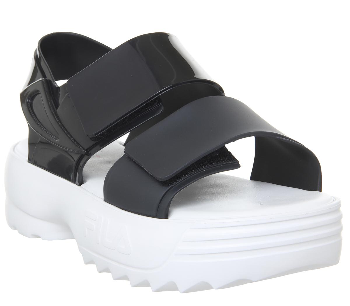 Melissa Sandal + Fila Sandals