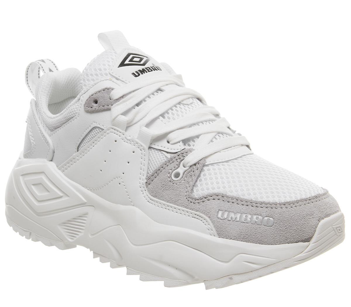 umbro shoes white