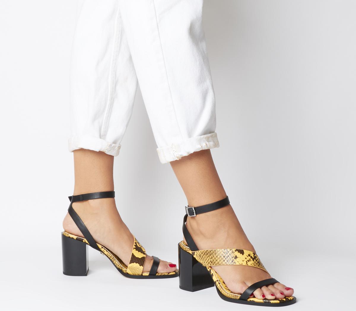 Monty Mid Heel Sandals