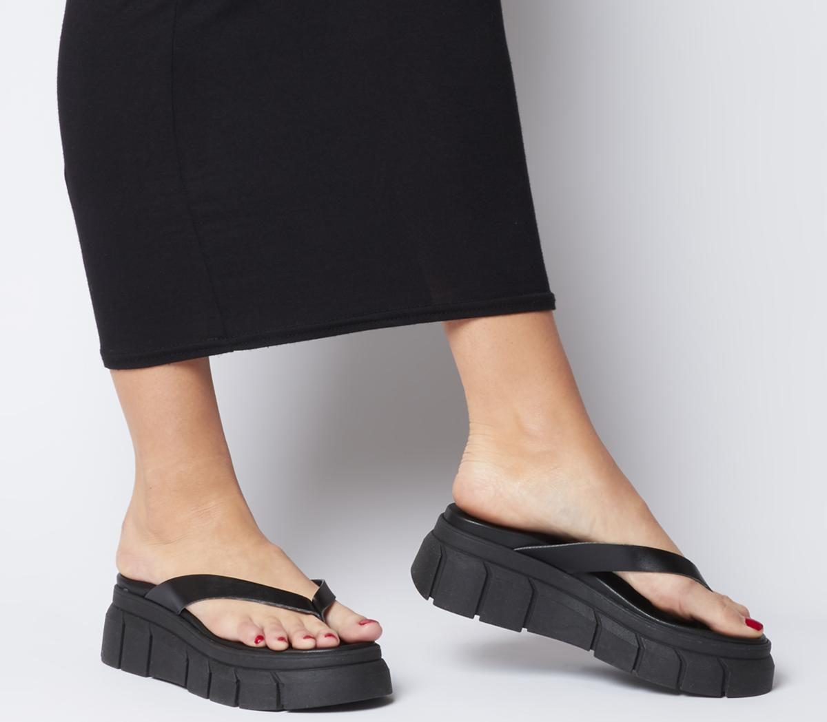 Office Major Chunky Toe Post Sandals