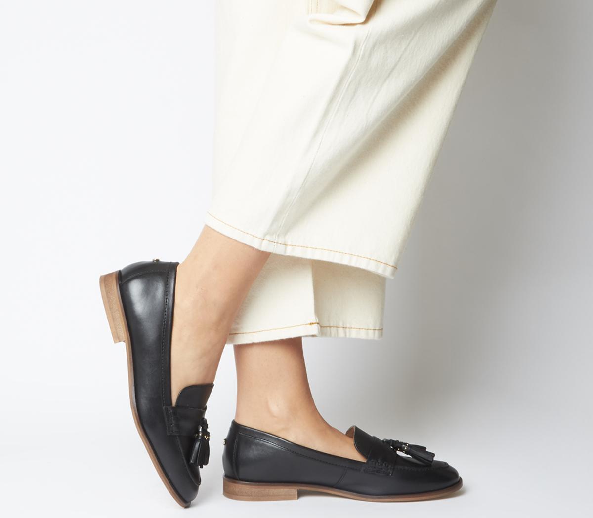 Fiza Square Toe Loafers