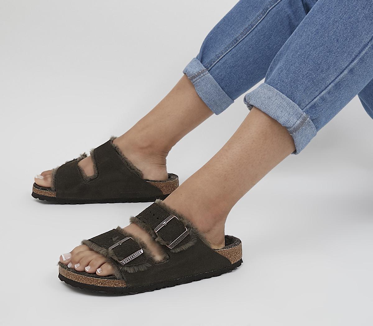 Arizona Shearling Sandals