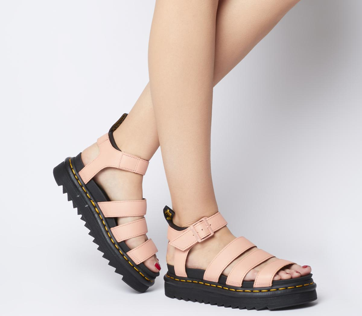 pink dm sandals \u003e Clearance shop