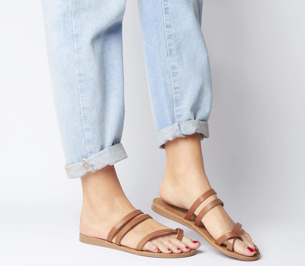 Serene- Toe Loop Mule Sandal