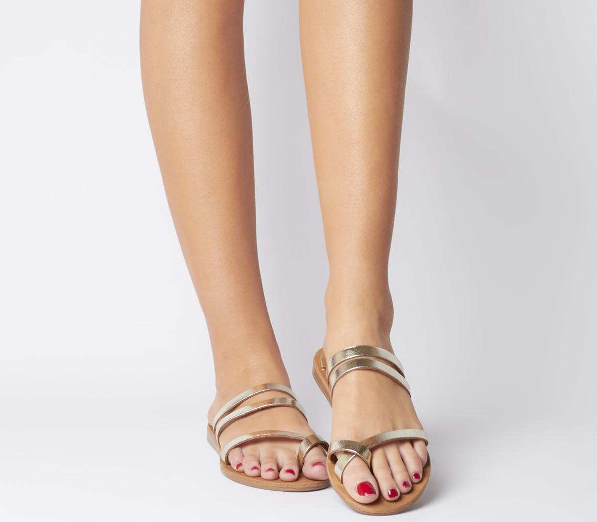 Serene Toe Loop Mule Sandals