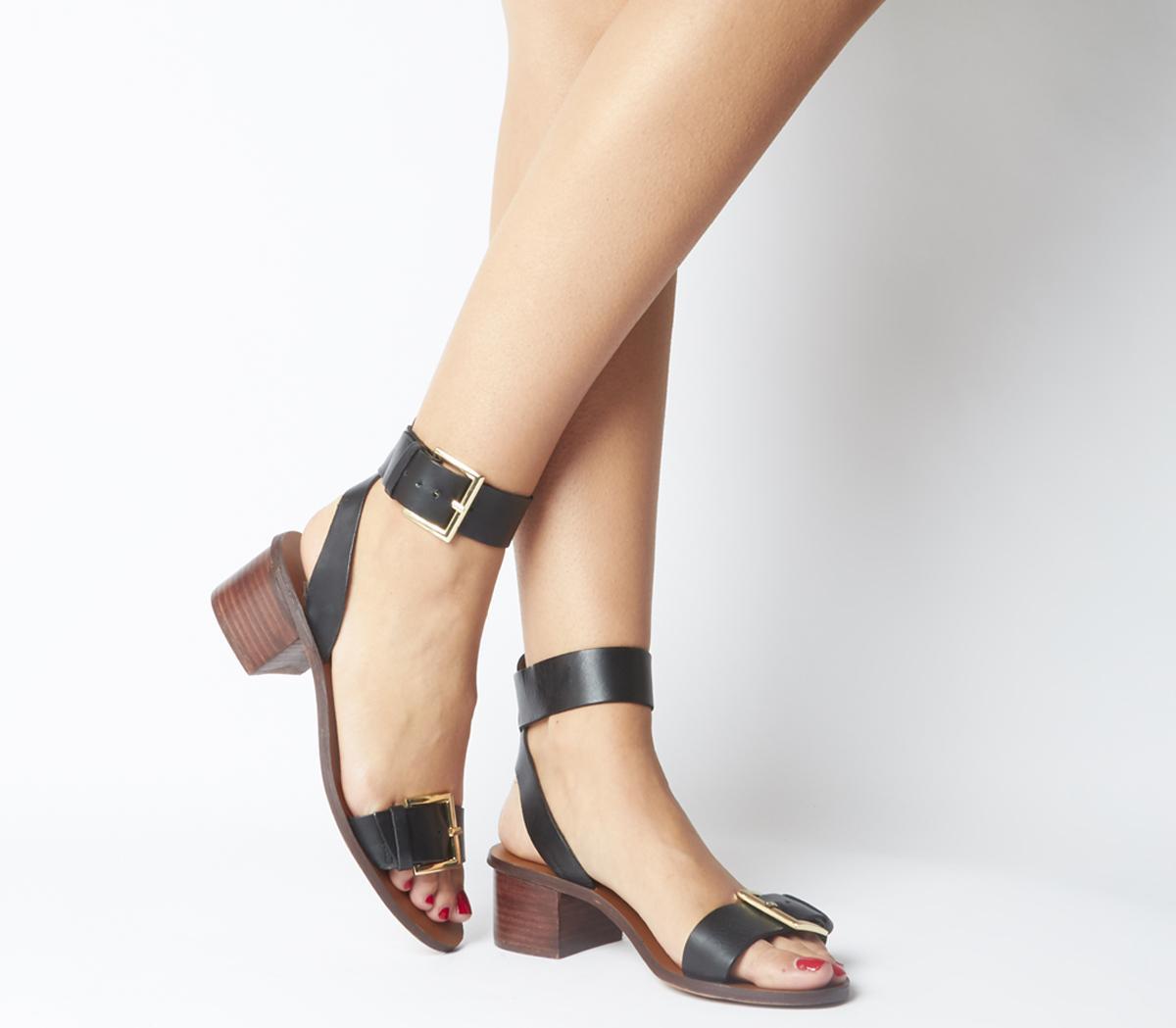Monique Two Part Block Heels