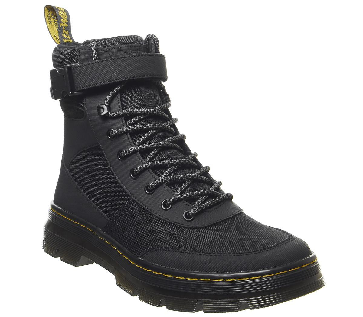 Dr. Martens Combs Tech Boots Black - Boots