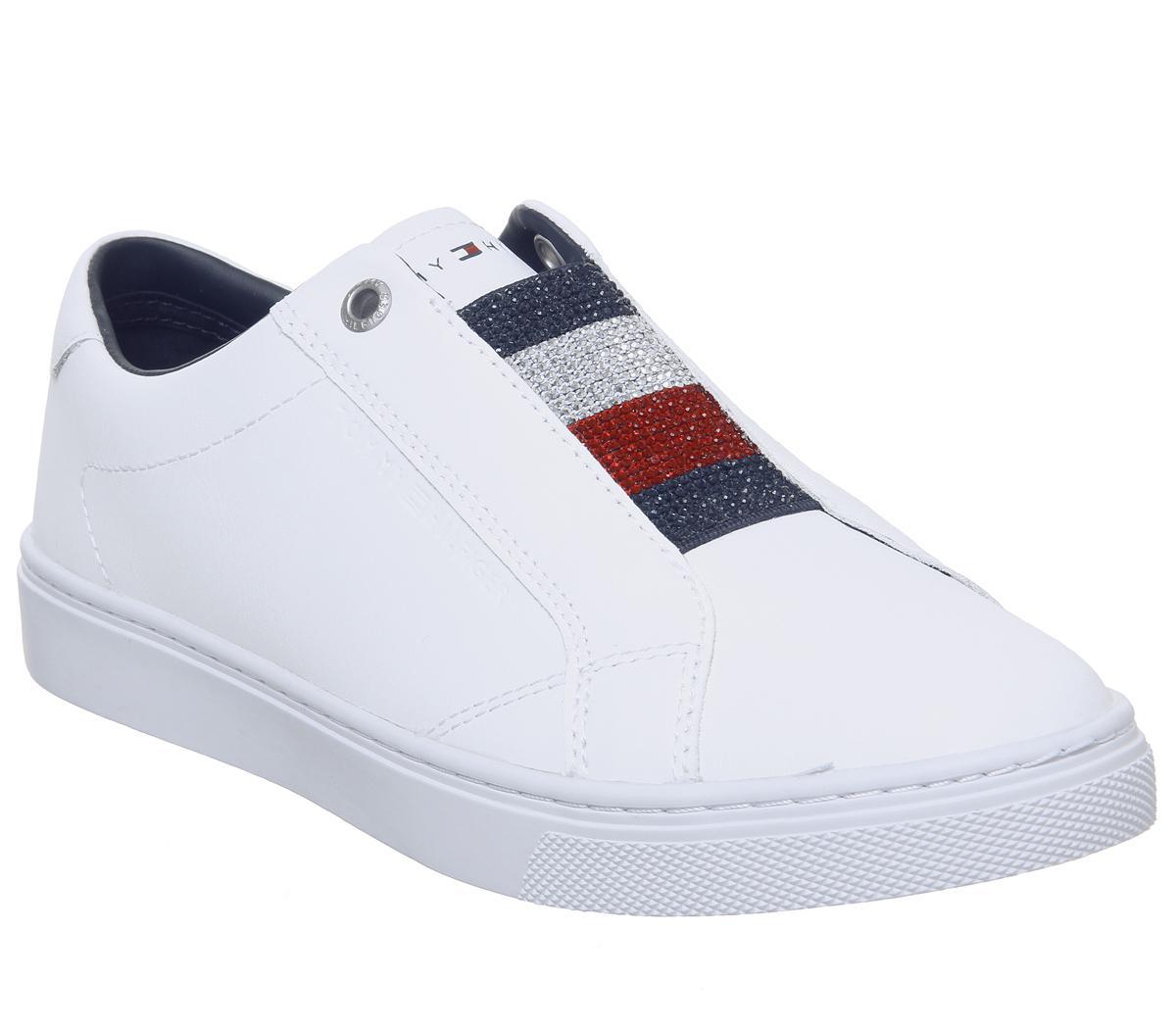 Tommy Hilfiger Slip On Sneakers Crystal