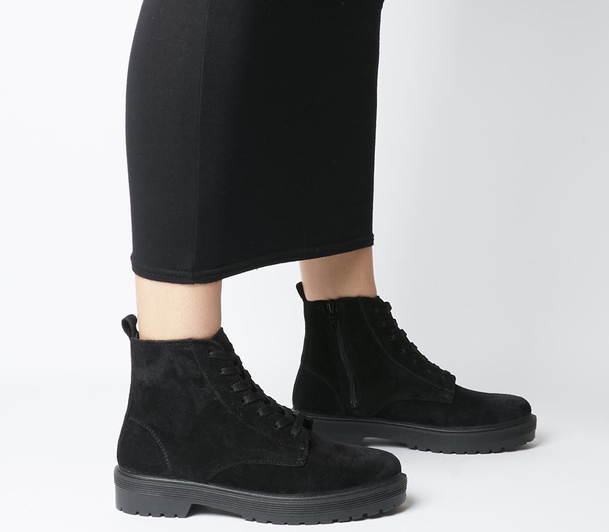 Ally Lace Up Boots