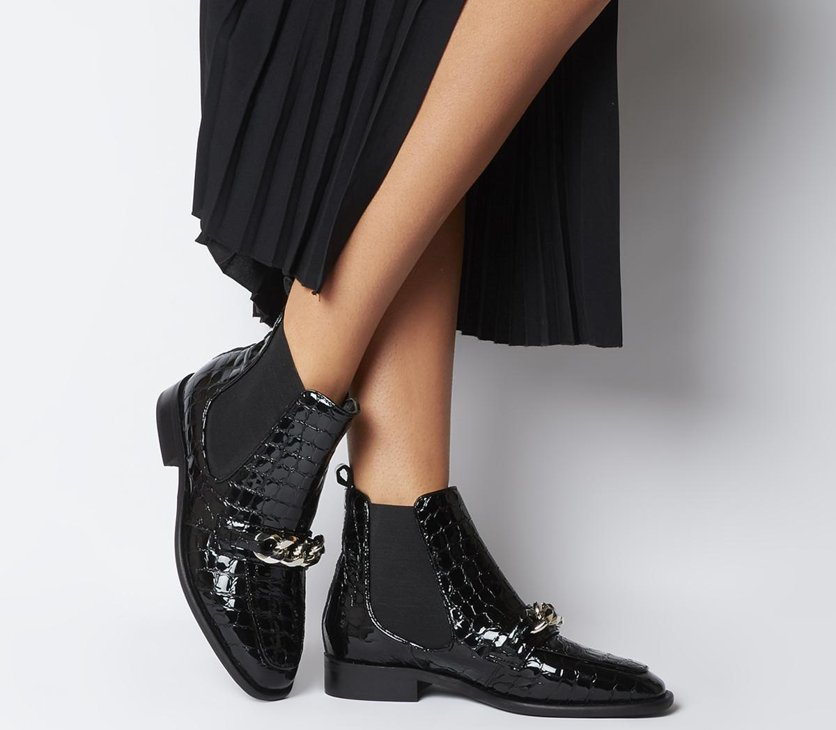 Arcade Chain Front Boots