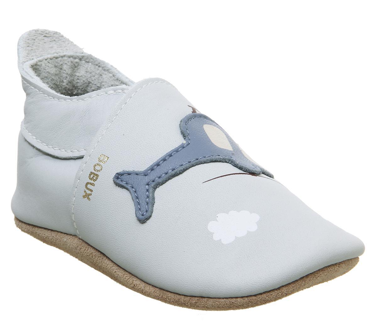 Bobux Soft Sole Crib Shoes Sky