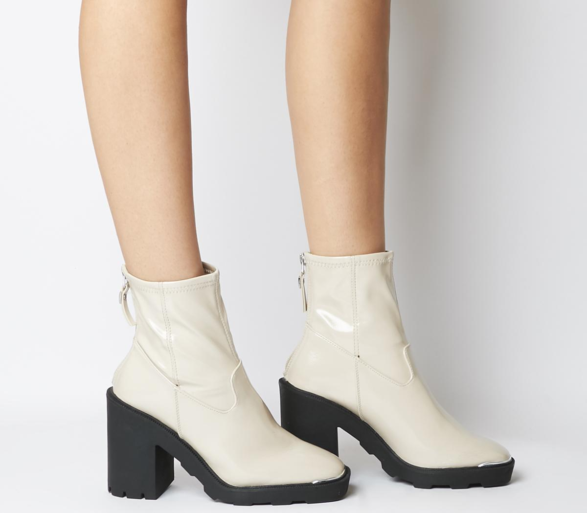 Office Altitude Chunky Sock Boots Off