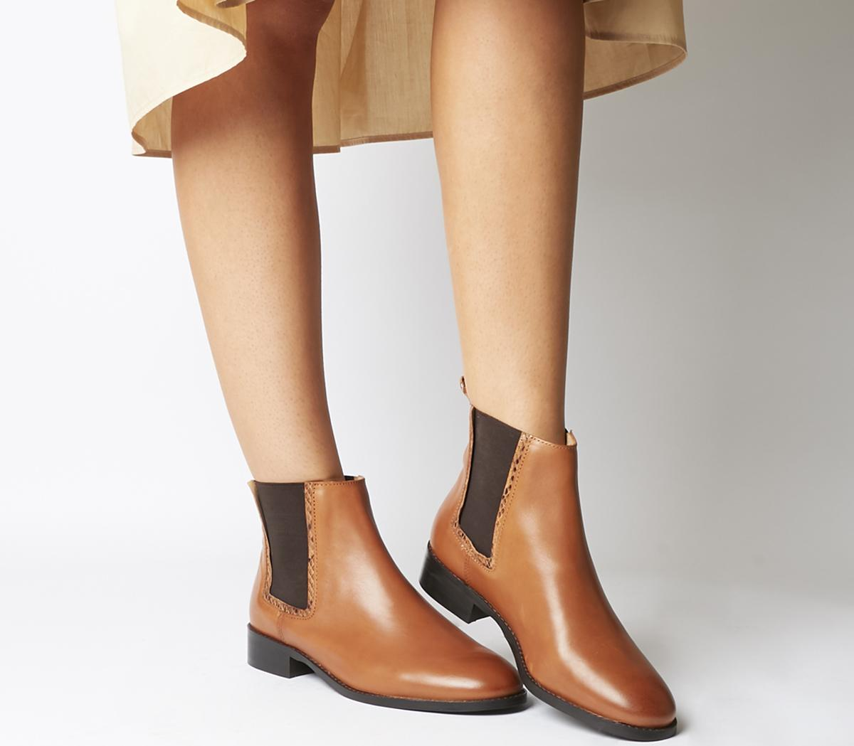 Acorn Feature Chelsea Ankle Boots