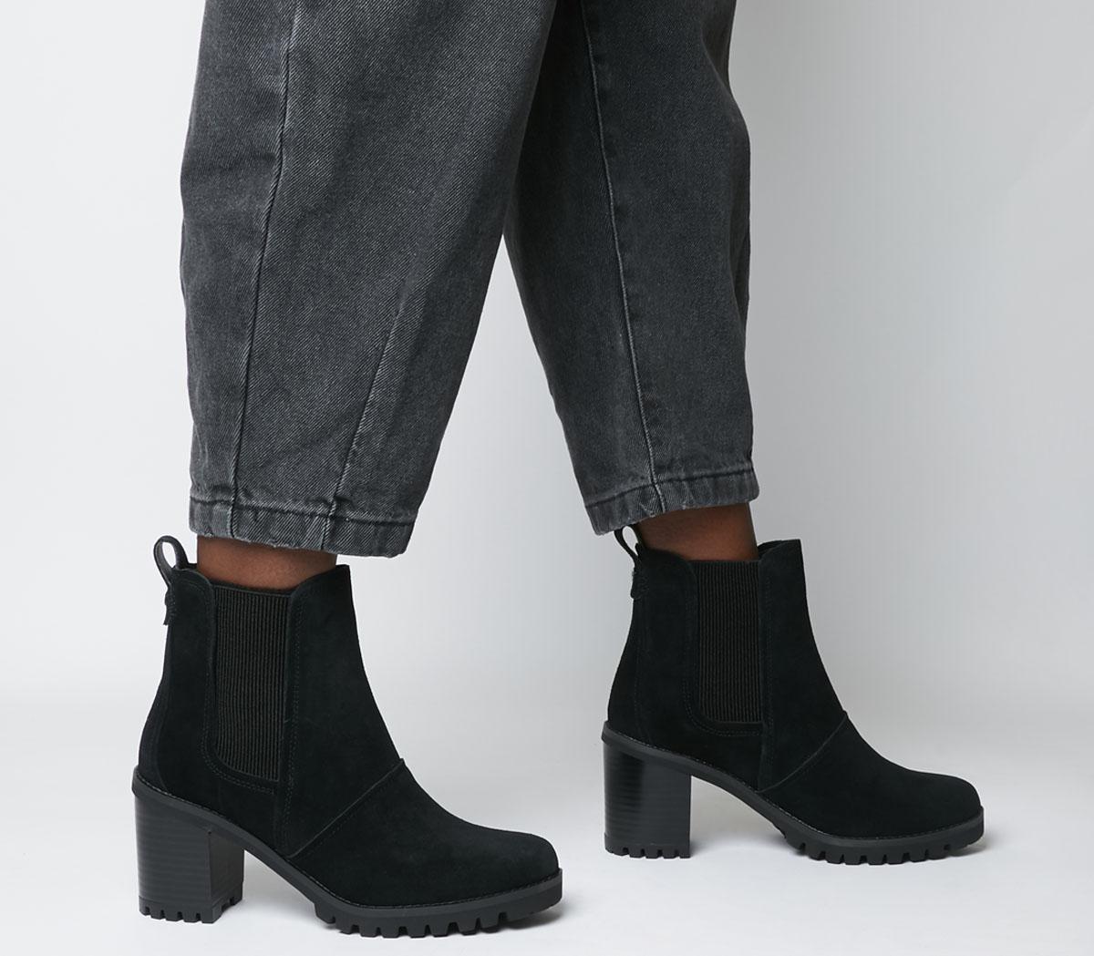 Hazel Heel Chelsea Boots