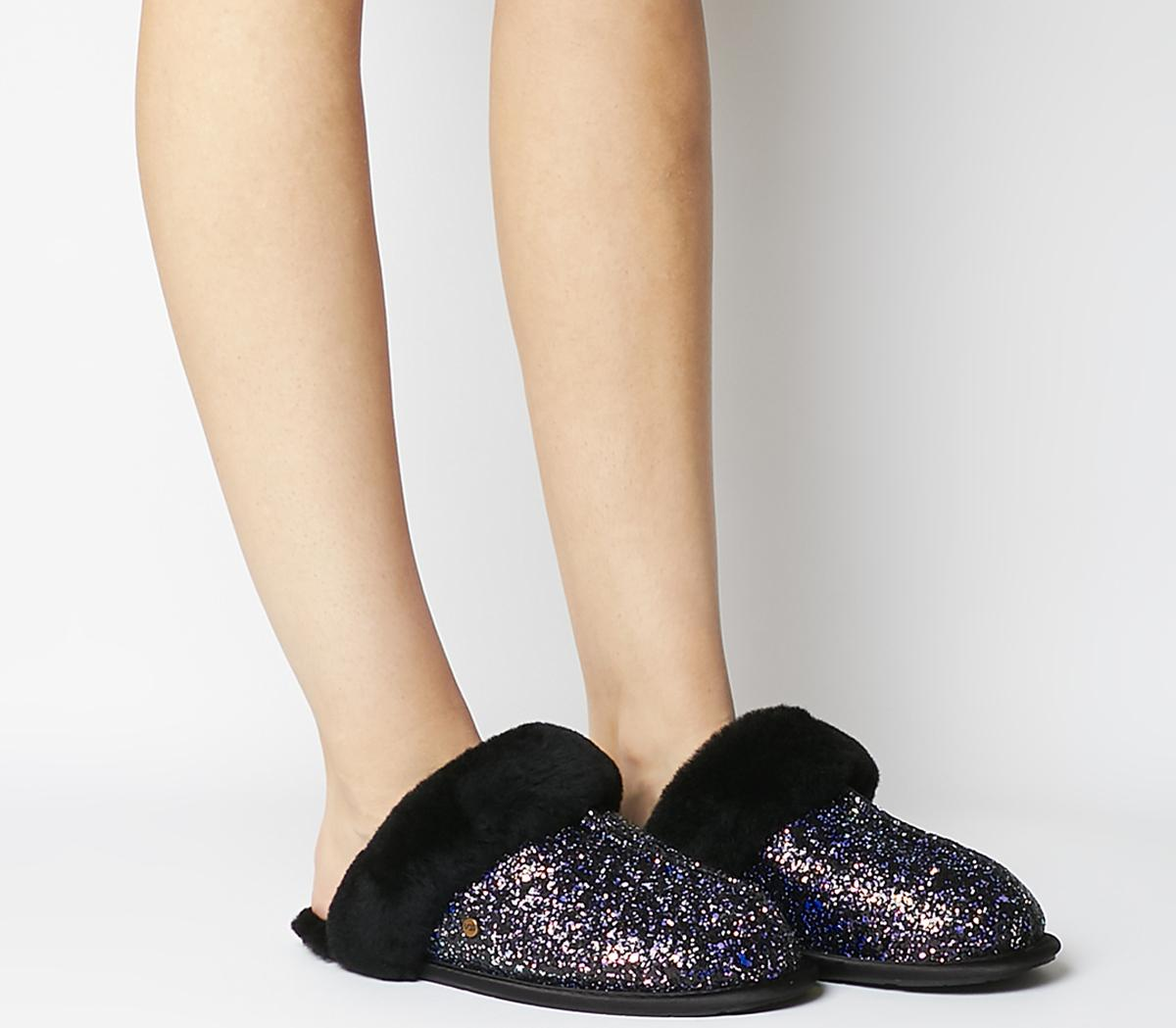 UGG Scuffette Cosmos Slippers Black