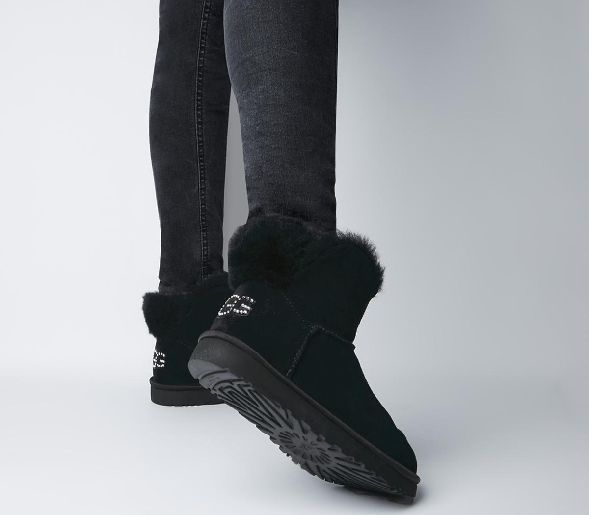 Classic Bling Mini Boots