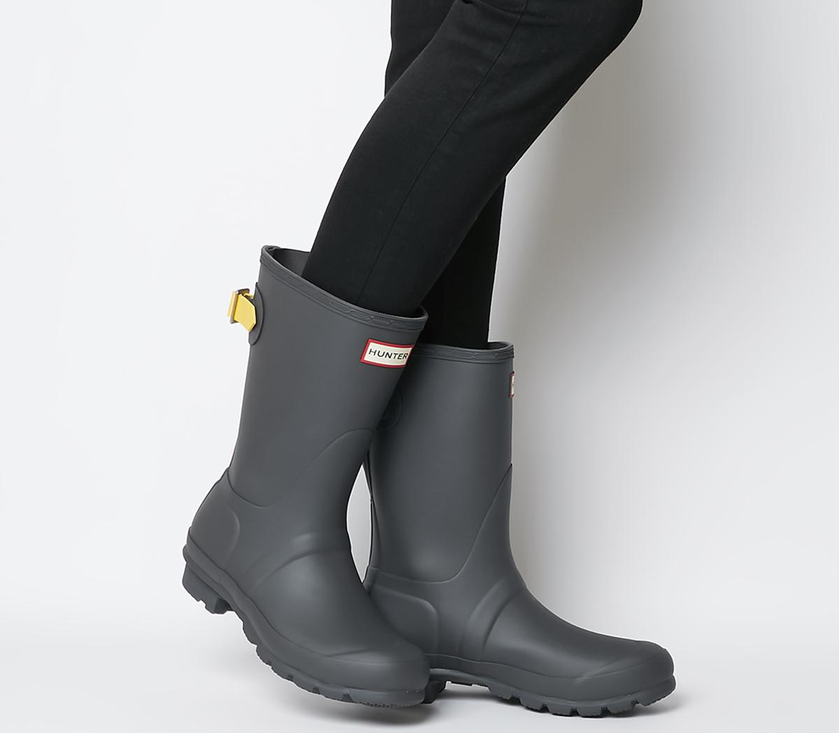 Adjustable Strap Short Boots
