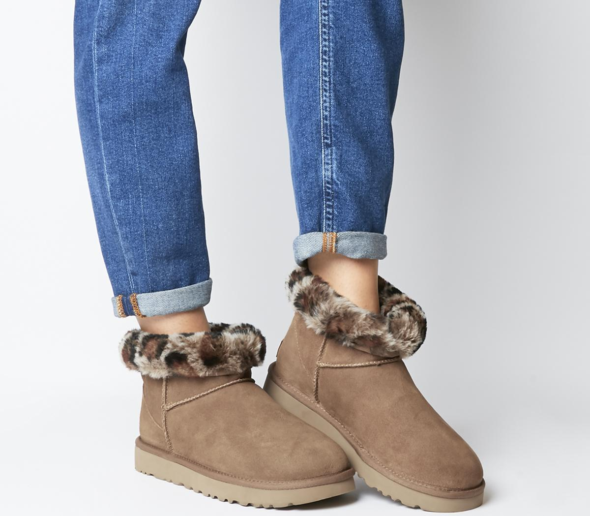Classic Mini Leopard Boots