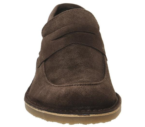 Office Cainan Loafer Chocolate Suede - Casual zPsppjV