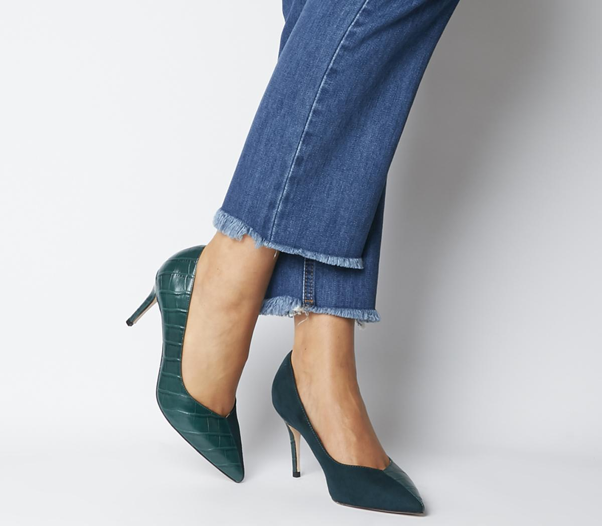 Maame Mid Point Court Heels