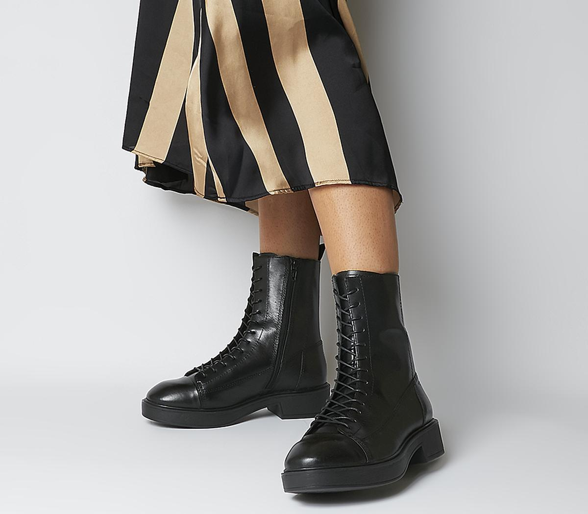 Diane Lace Up Boots