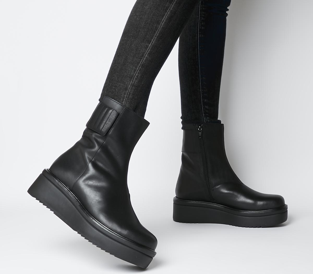 Vagabond Tara Boots Black - Ankle Boots