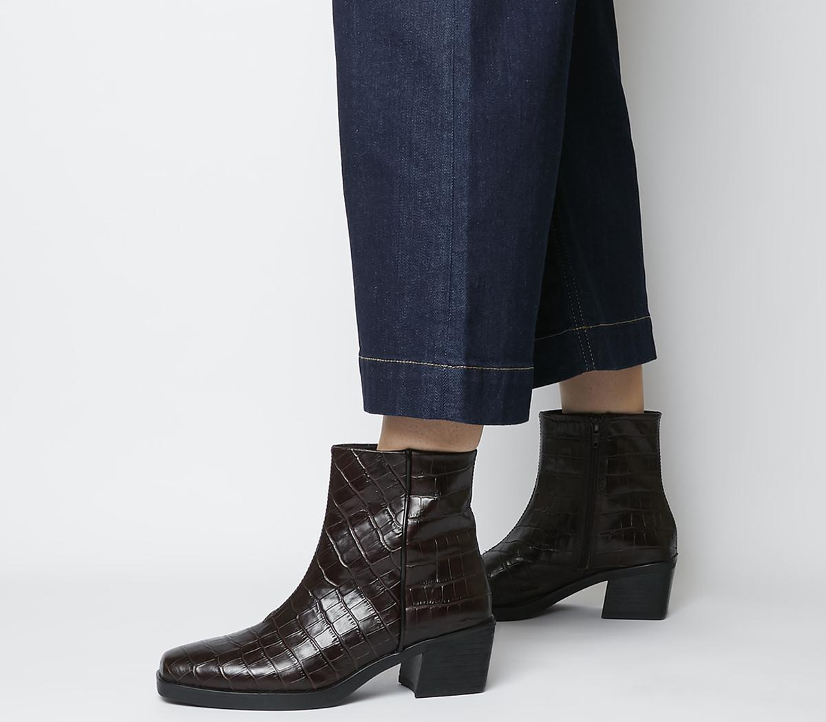 Vagabond Simone Ankle Boots Brown