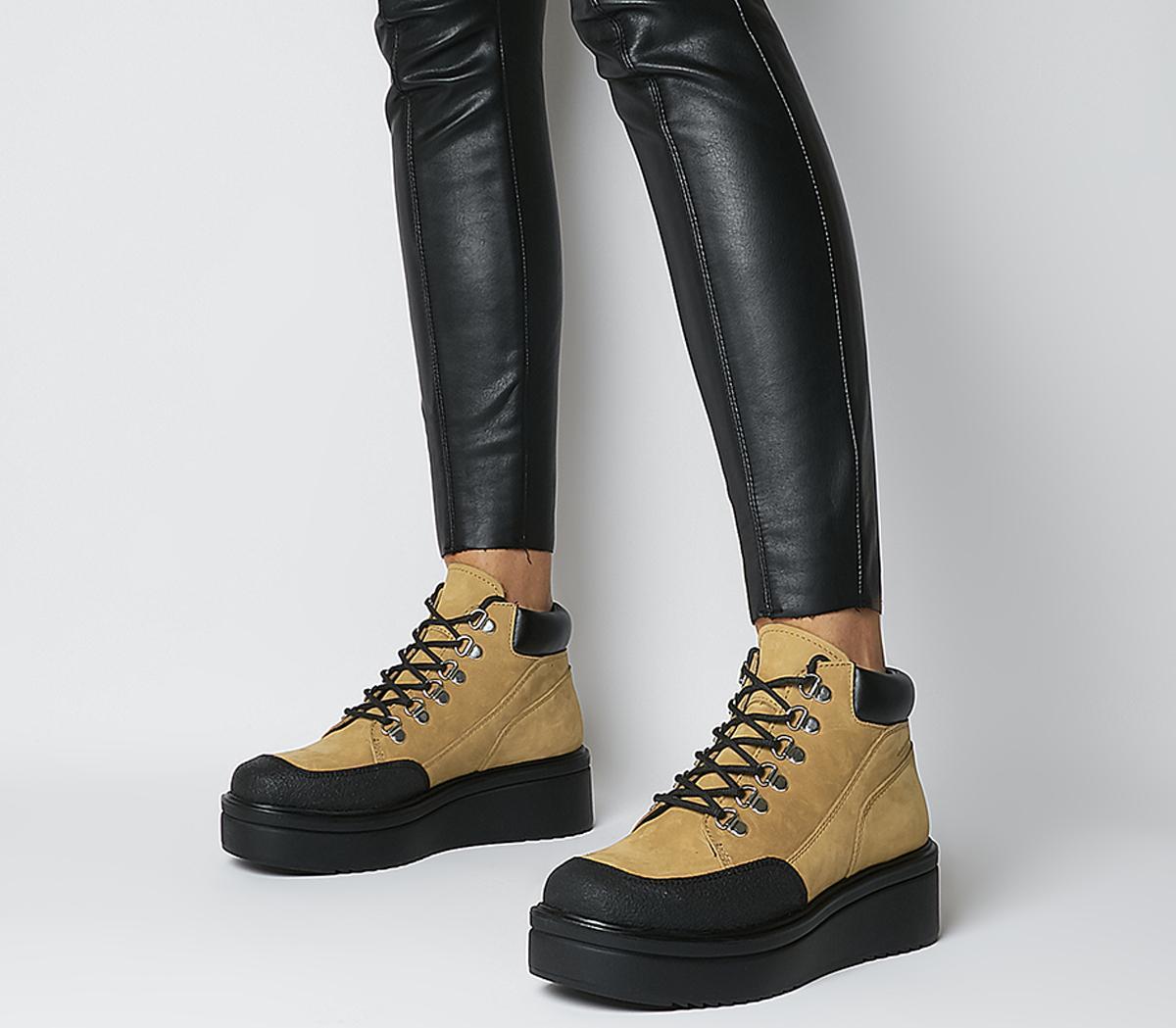 Tara Hiker Lace Up Boots