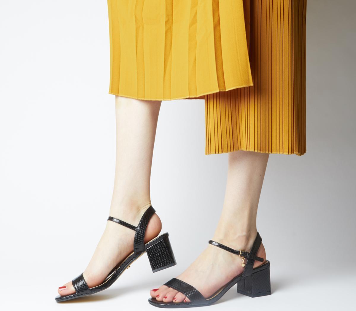 Mula Minimal Block Heel Sandals