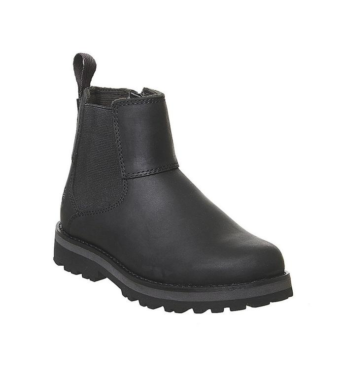 Image of Timberland Courma Chelsea Youth BLACK FULL GRAIN